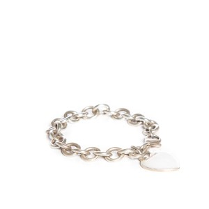 Tiffany & Co. Tiffany & Co. Sterling Silver Heart Tag Bracelet