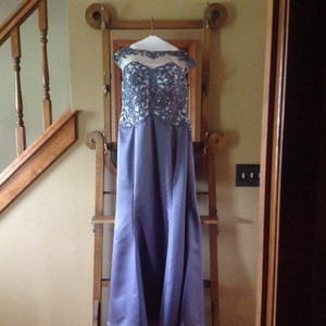 Impression Bridal Gunmetal Dress