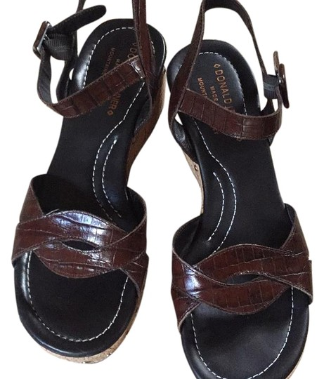 Donald J. Pliner Brown Sandals Image 0
