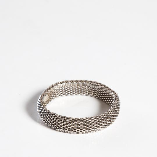 Tiffany Amp Co Silver Sterling Mesh Somerset Bangle