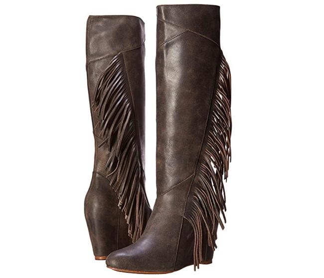 Koolaburra Wetsand New Leather Fringe Dress Boots/Booties Size US 7.5 Regular (M, B) Koolaburra Wetsand New Leather Fringe Dress Boots/Booties Size US 7.5 Regular (M, B) Image 1