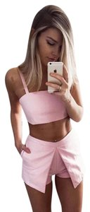SABO SKIRT Free Poeple Hot Xs Crop Top Pink