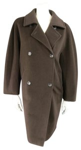 Max Mara Vintage Oversized Virgin Wool Double Breasted Italian Coat