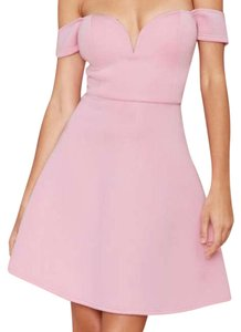 Nasty Gal short dress pink on Tradesy