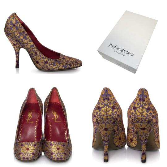 Preload https://img-static.tradesy.com/item/20089687/saint-laurent-rare-collectible-new-ysl-brocade-tom-ford-era-with-box-pumps-size-eu-385-approx-us-85-0-3-540-540.jpg