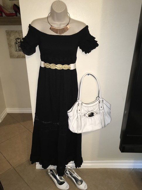 Black Maxi Dress by Romeo & Juliet Couture Image 1