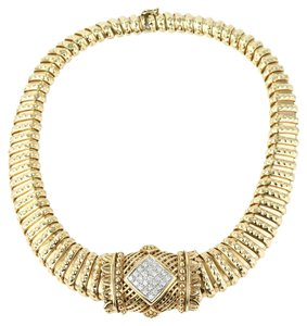 VAHAN * Vahan 14K Gold and Natural Diamonds Choker