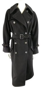 Ralph Lauren Vintage Label Trench Gold Hardware Double Breasted Trench Coat