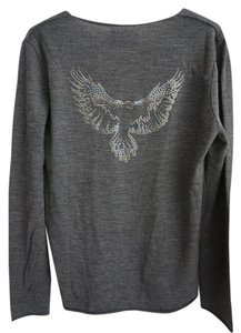 Zadig & Voltaire Wool V-neck Designer Sweater
