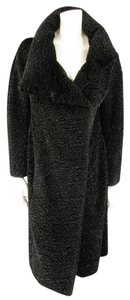 Richard Tyler Couture Faux Fur Padded Winter Coat