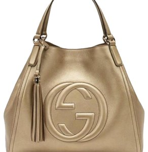 Gucci Satchel in Golden Beige