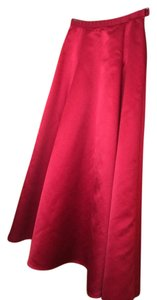 Kay Unger Maxi Skirt red