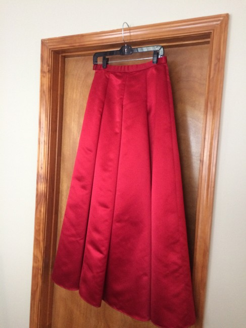 Kay Unger Maxi Skirt red Image 1