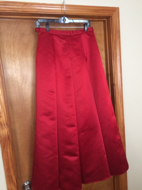 Kay Unger Maxi Skirt red Image 2