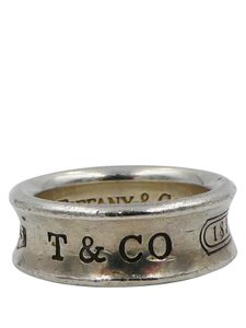 Tiffany & Co. Tiffany & Co 1837 Sterling Silver Band Sz 5 Ring
