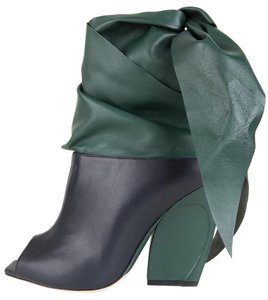 Dior Navy & Green Boots