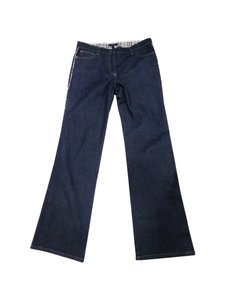 Burberry London Straight Leg Jeans-Dark Rinse