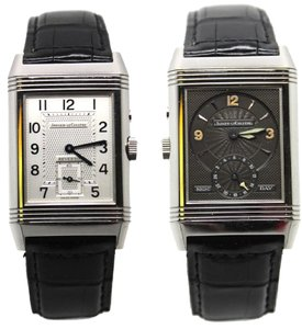 Jaeger-LeCoultre Men's limited edition reverso duo day night dress watch manual