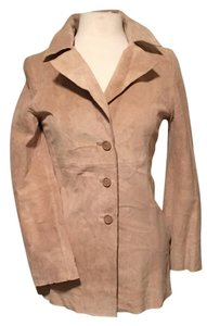 Forever 21 Tan suede leather Leather Jacket