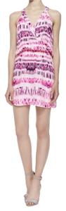 Parker short dress Pink Racer-back on Tradesy