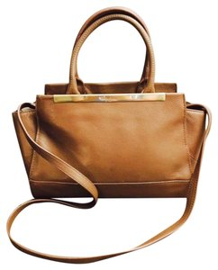 Foley + Corinna Leather Satchel in Brown