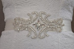 Crystal Rhinestone Wedding Bridal Belt/ Bridal Sash