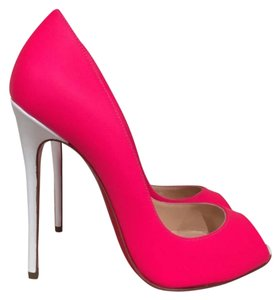 Christian Louboutin Youpi Neon Stiletto pink Pumps