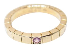 Cartier Cartier 18K Rose Gold 54# Lanieres Band Ring