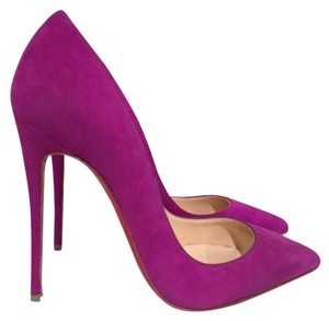 Christian Louboutin So Kate Sokate Pigalle purple Pumps