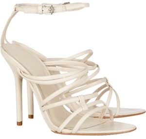 Hervé Leger Nude Sandals