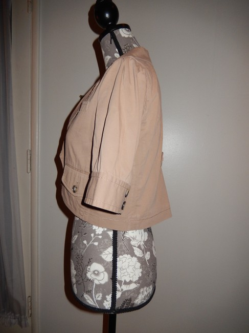 Theory Cotton Tan Jacket Image 2