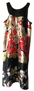 Uttam London short dress Multicolor Flowers Summer Colorful Silk on Tradesy