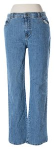 Gloria Vanderbilt Flare Leg Jeans-Medium Wash