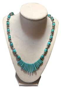 Anna's Art Turquoise Gemstone Necklace