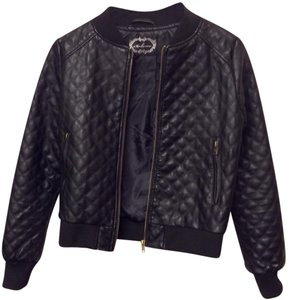 Ambiance black Leather Jacket