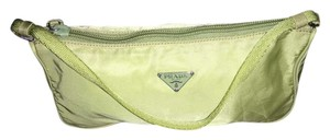 Prada Wristlet in Lime green