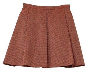Kenzo Womens Nylon Skirt Orange