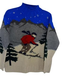 Lauren Ralph Lauren Ski Wool Color Sweater