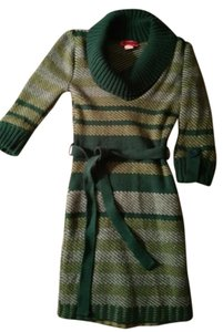 Say What? short dress Green Sweater on Tradesy