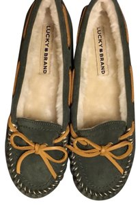 Lucky Brand Grey and brown Flats