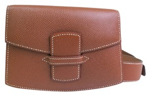 Hermès Hermes Couchevel Leather Waist Pack