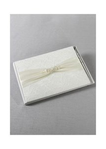 David's Bridal Lace Elegance Guest Book