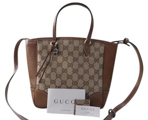 Gucci Bree Gg Leather Cross Body Bag