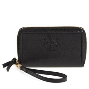 Tory Burch Tory Burch 'Thea' Leather Wristlet