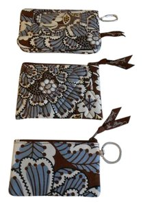 Vera Bradley *Lot of 3* NWOT Slate Blooms ID case wallet and coinpurse