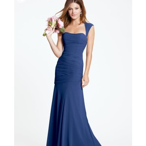Watters & Watters Bridal Cobalt Blue Dress