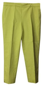 Talbots Trouser Pants Lime