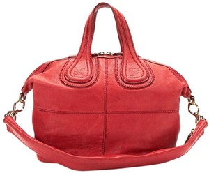 Givenchy Pandora Handbag Antigona Satchel in Red