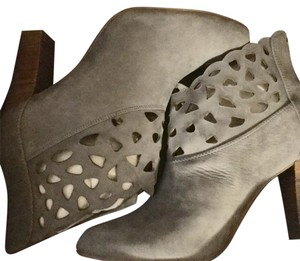 Anthropologie Gray Boots