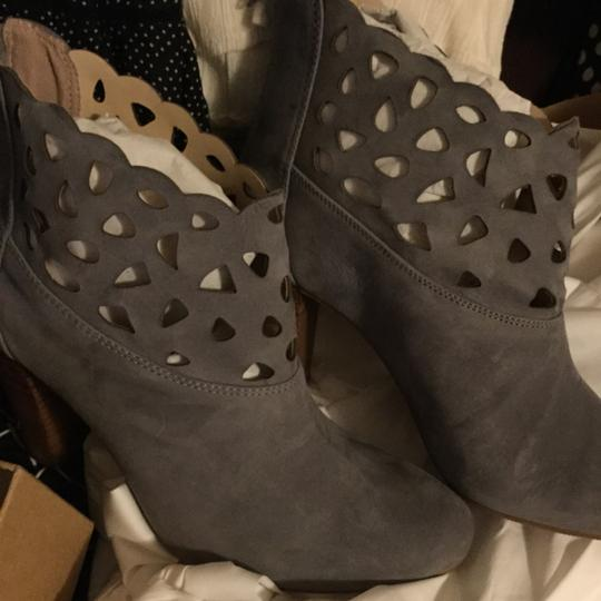 Anthropologie Gray Boots Image 1